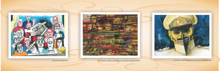 Pasillo de la memoria - Obras de arte Pasillo de la memoria